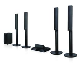 LG LHA755 5.1 3D Blu-ray Heimkinosystem (1000 Watt, Smart TV, DLNA, Bluetooth, 1080p Upscaling) schwarz -