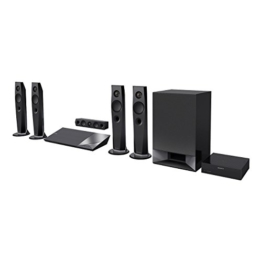 Sony BDV-N7200W 5.1 Blu-ray Heimkinosystem (1200 Watt, 4K UltraHD Upscaling, 3D, WLAN, Smart TV, Bluetooth, NFC, Spotify) schwarz -