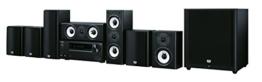 """Onkyo Europe Electronics HT-S9800THX-B Multiroom-fähiges """"7.1-Kanal""""-Heimkinosystem inklusiv Audio/Video Netzwerk-Receiver mit 165W Pro Kanal schwarz -"""