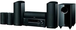 Onkyo HT-S5805 (B) 5.1.2-Kanal Heimkinosystem (Dolby Atmos, DTS-HD, 4K, Ultra HD, HDCP 2.2, Bluetooth, 100 Watt, Raumeinmessung) schwarz -